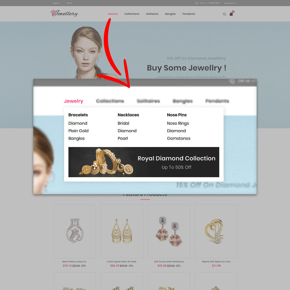 theme - Schmuck & Accesoires - Jwellery Shop - 7