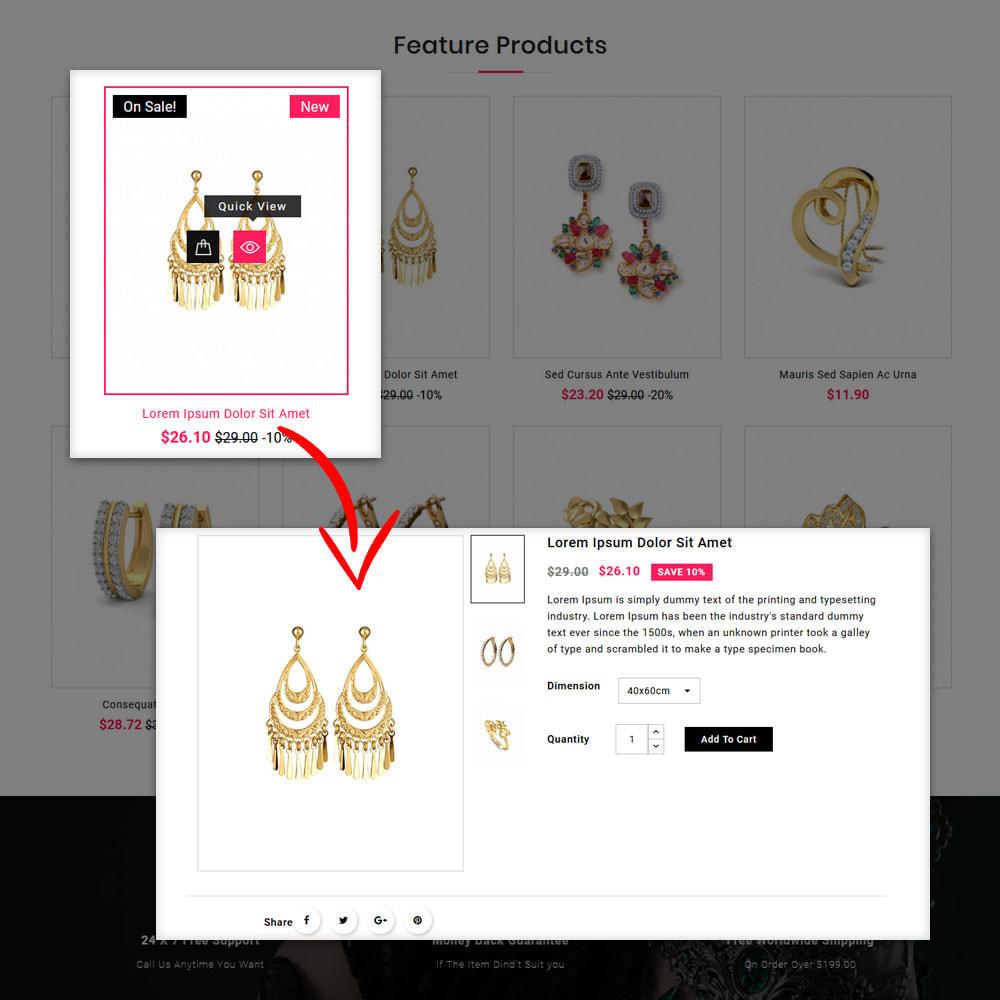 theme - Schmuck & Accesoires - Jwellery Shop - 8