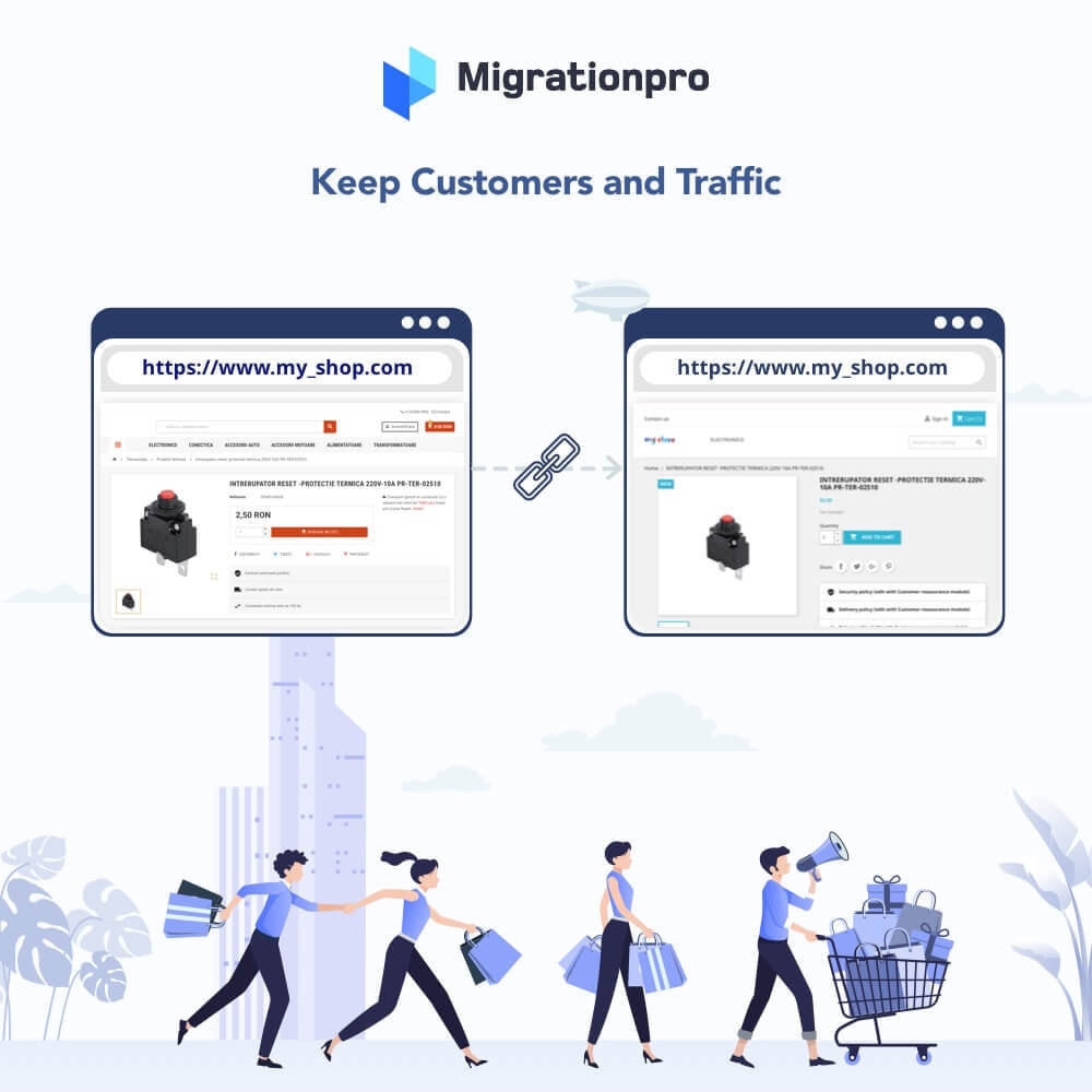 module - Migratie & Backup - MigrationPro: osCommerce to PrestaShop SEO Redirect - 4