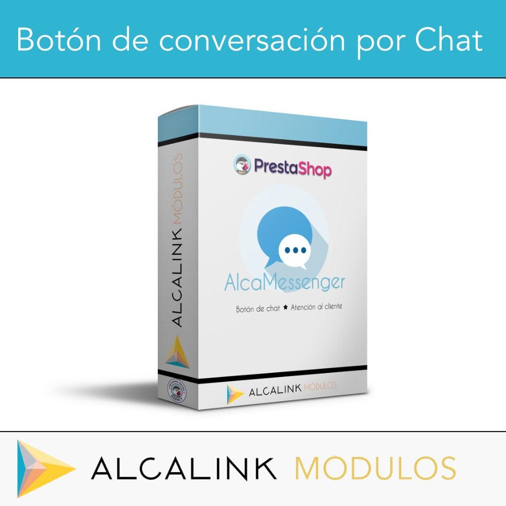module - Asistencia & Chat online - Botón de conversación por Chat - 1