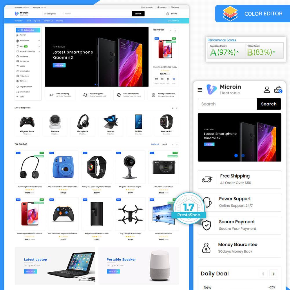 theme - Electrónica e High Tech - Microin - Best Electronics Store - 9