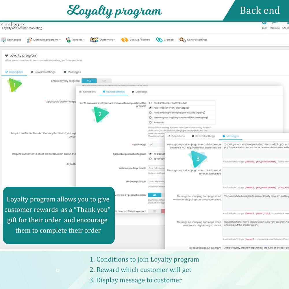 module - Fidelização & Apadrinhamento - Loyalty, referral & affiliate program (reward points) - 12