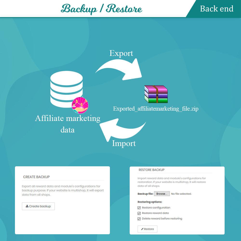 module - Fidelização & Apadrinhamento - Loyalty, referral & affiliate program (reward points) - 20