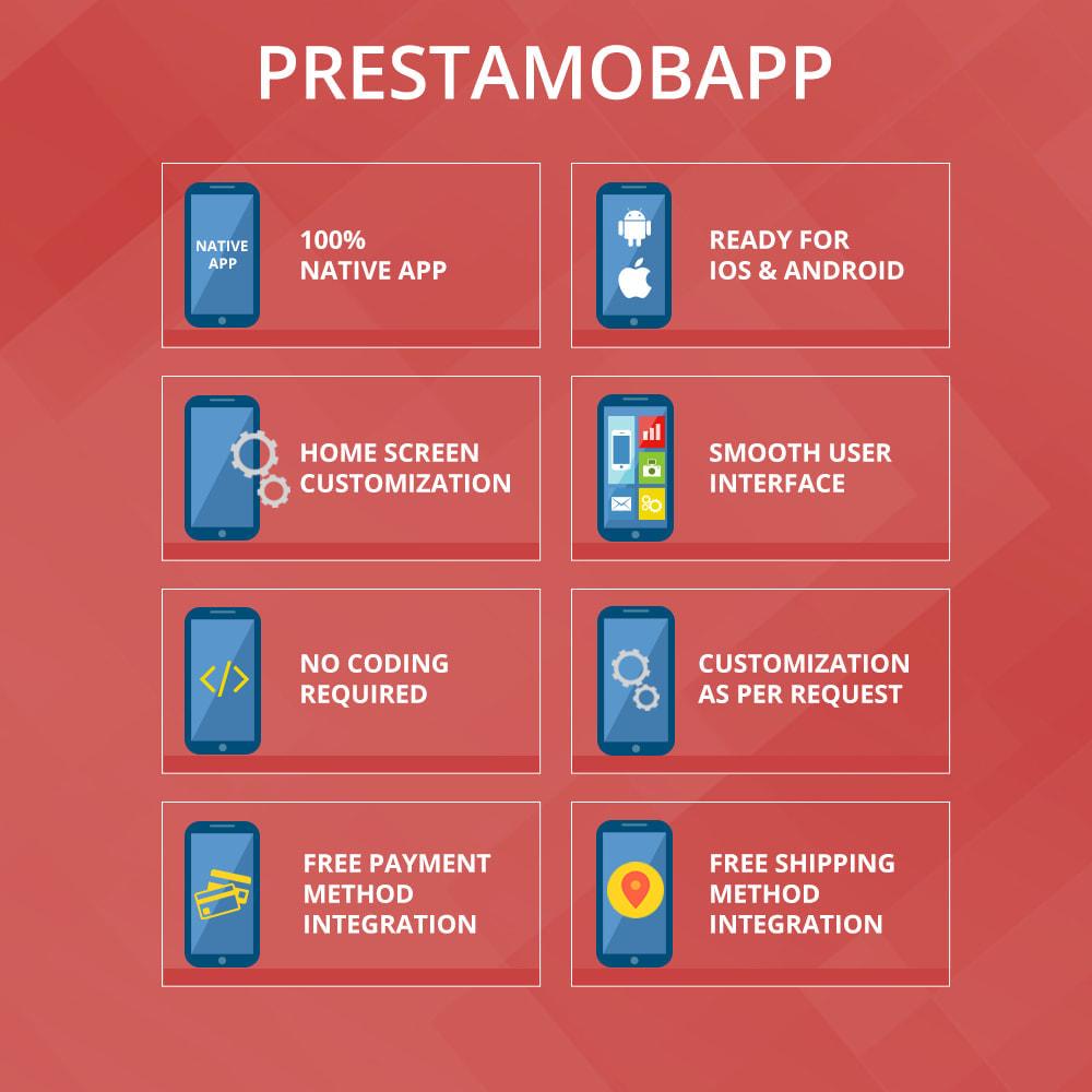 module - Mobiele apparaten - PrestaMobApp - Native App Builder voor Android en IOS - 2
