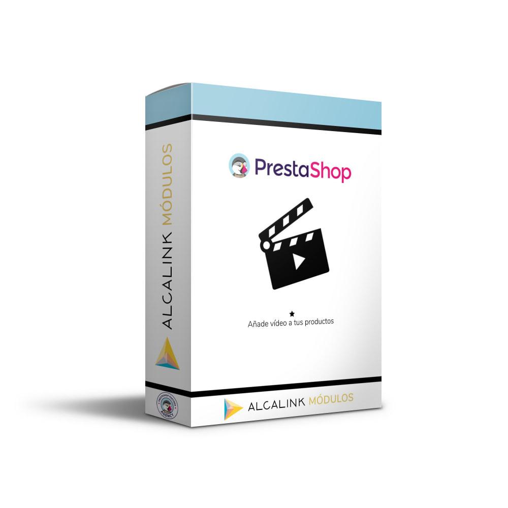 module - Vídeos y Música - Vídeo en Ficha Producto - Youtube, Dailymotion... - 1