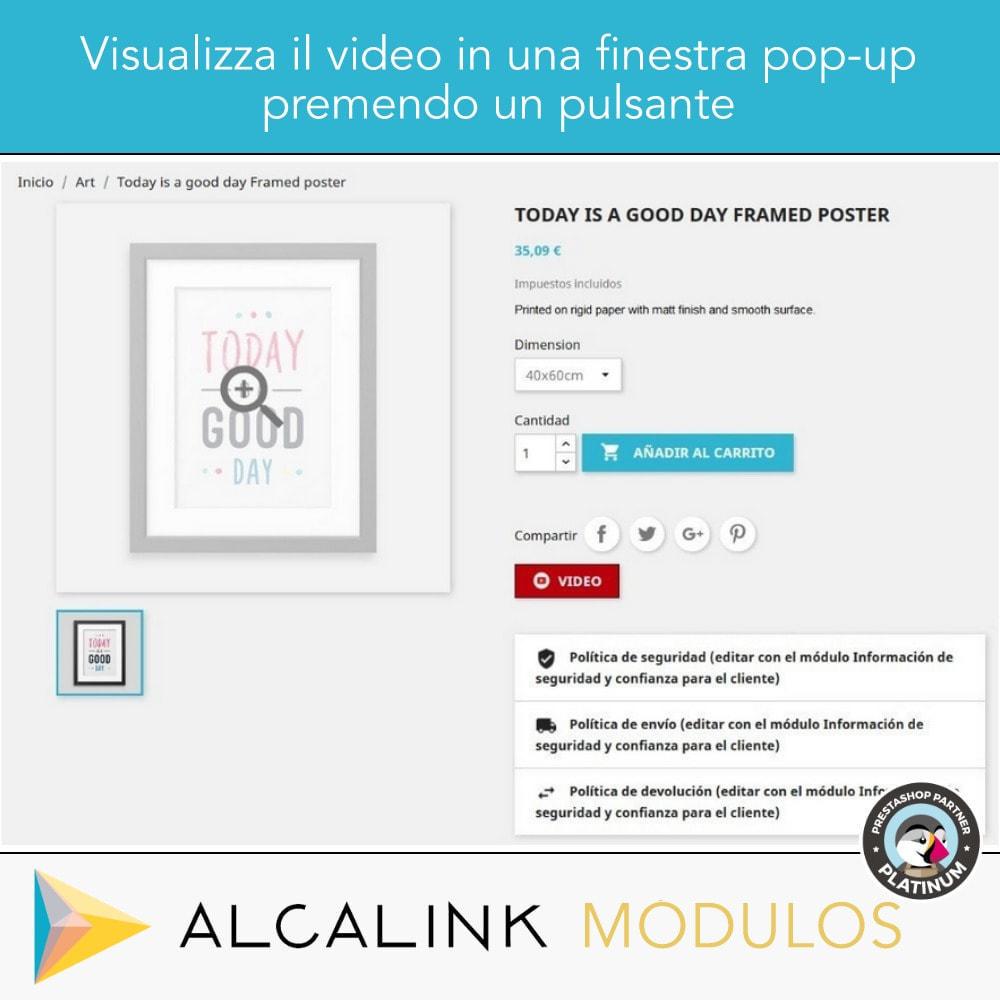 module - Video & Musica - Video nel schede del prodotto - Youtube, Dailymotion... - 4