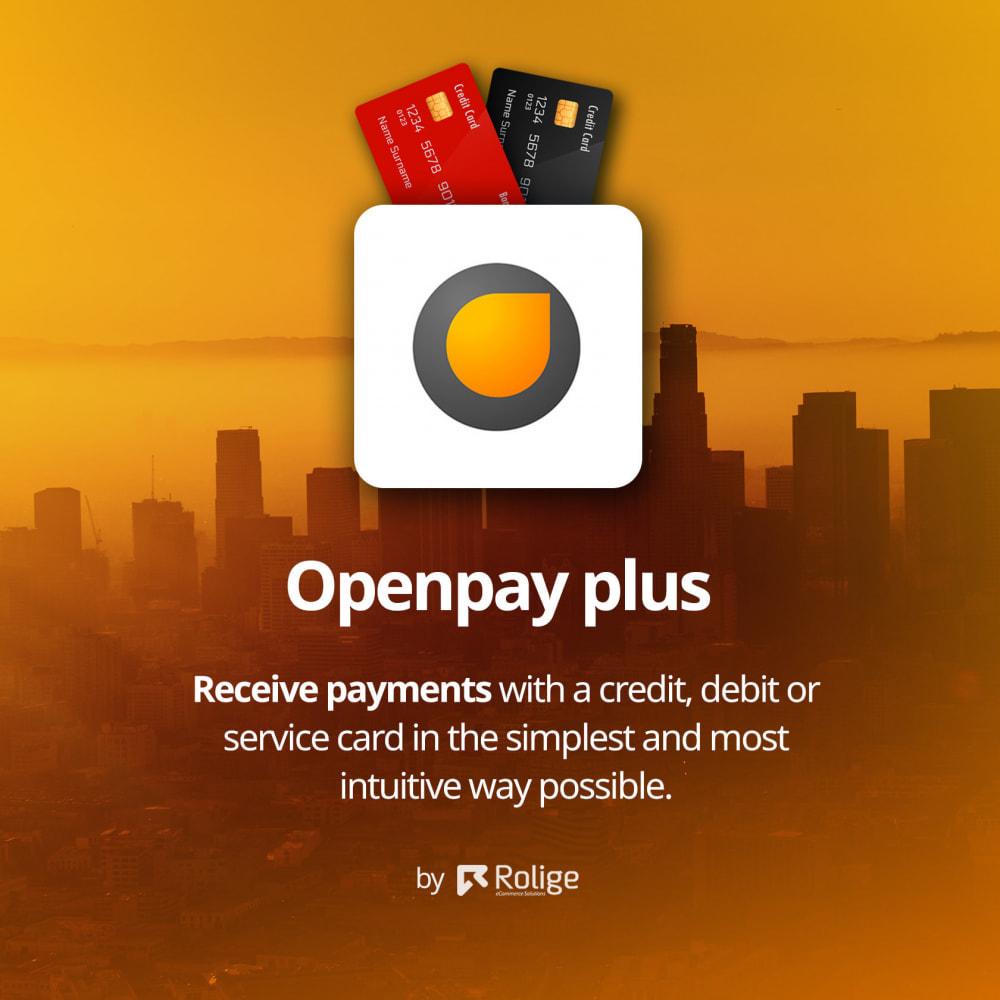 module - Płatność kartą lub Płatność Wallet - Openpay Plus - 2