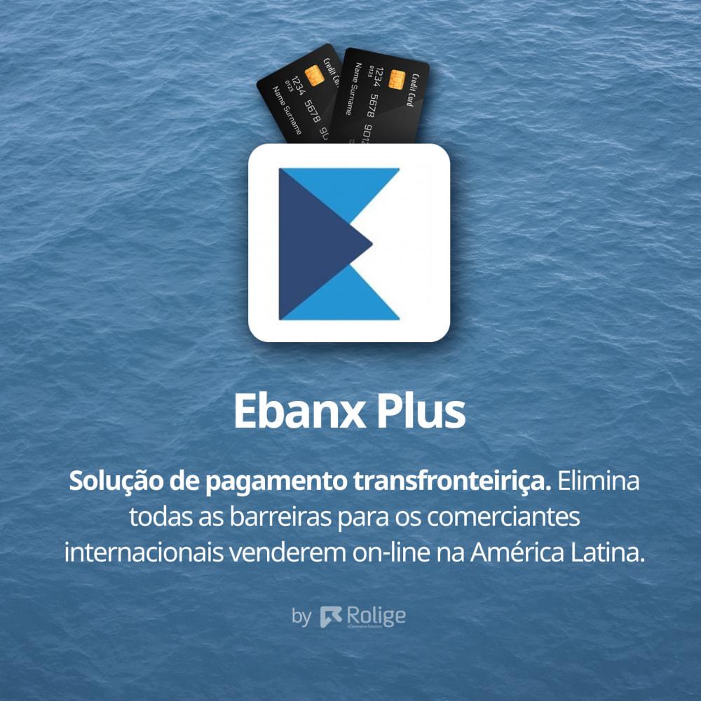 module - Pagamento por cartão ou por carteira - EBANX Plus - 2