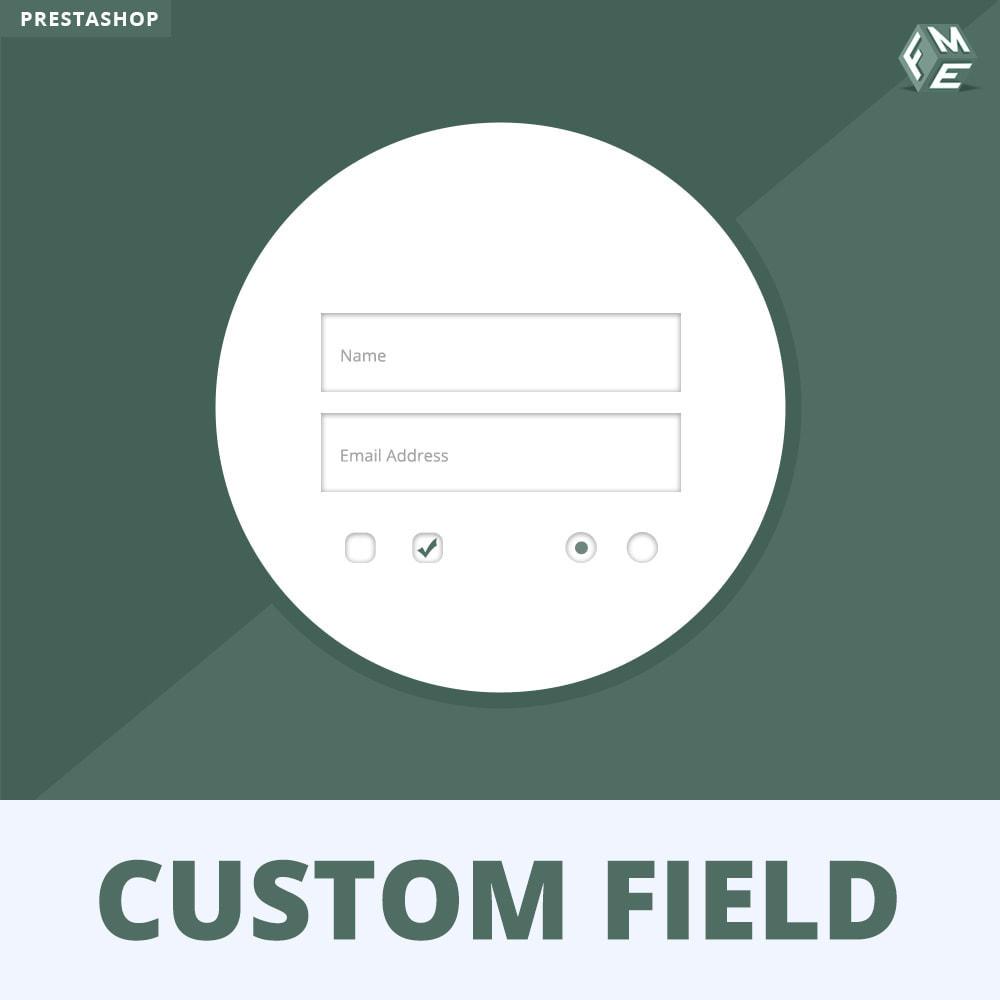 module - Iscrizione e Processo di ordinazione - Campi Personalizzati,  Aggiungi Campo alla di Checkout - 1