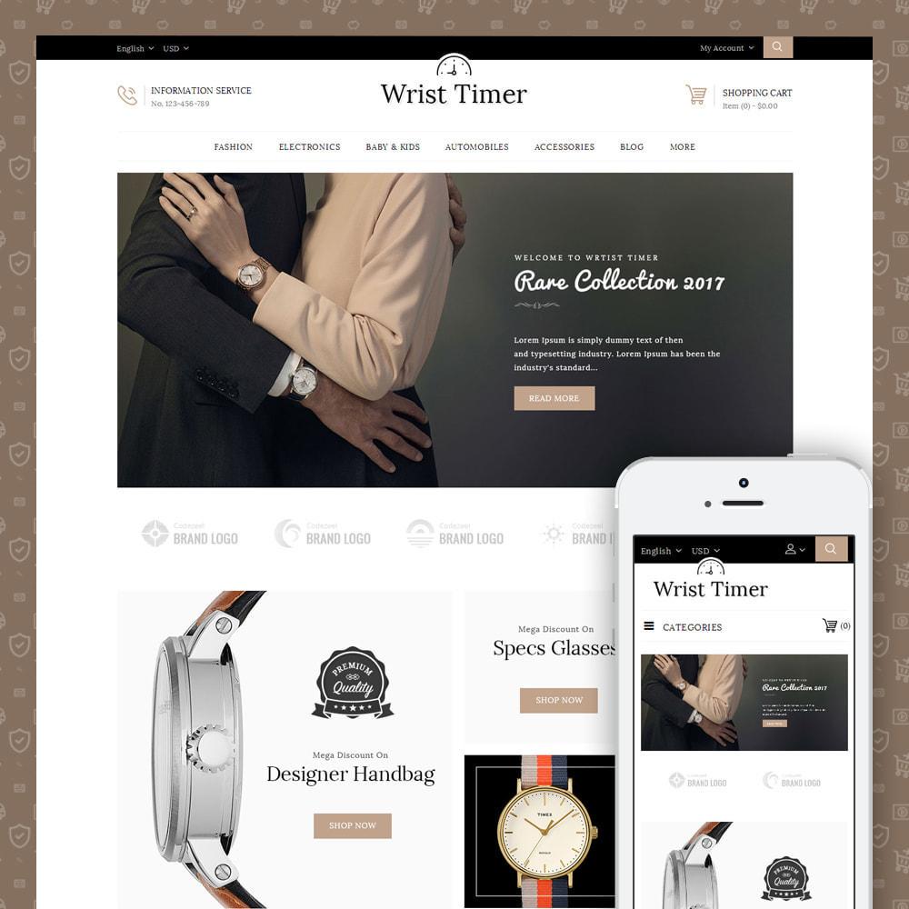 theme - Jewelry & Accessories - Wrist Timer - Watch Store - 1