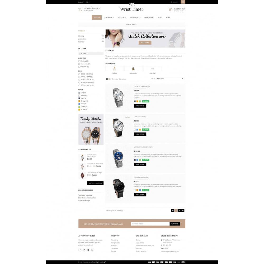 theme - Jewelry & Accessories - Wrist Timer - Watch Store - 4