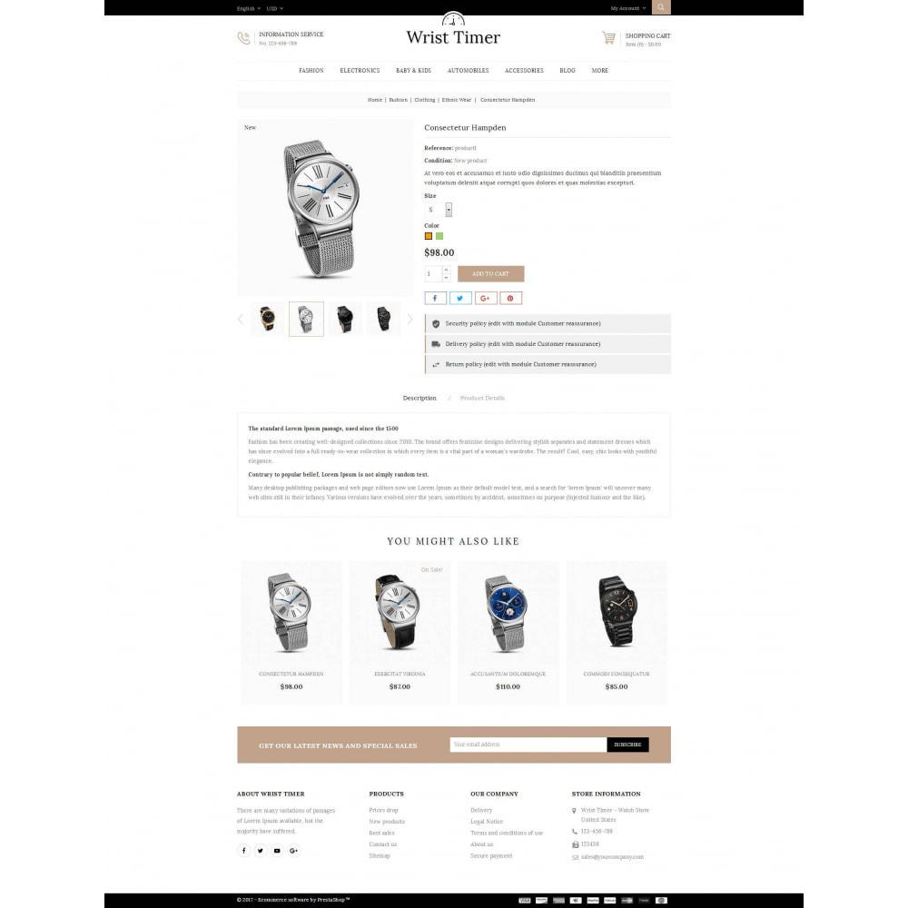 theme - Jewelry & Accessories - Wrist Timer - Watch Store - 5