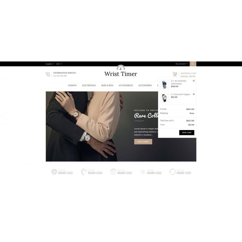 theme - Jewelry & Accessories - Wrist Timer - Watch Store - 8