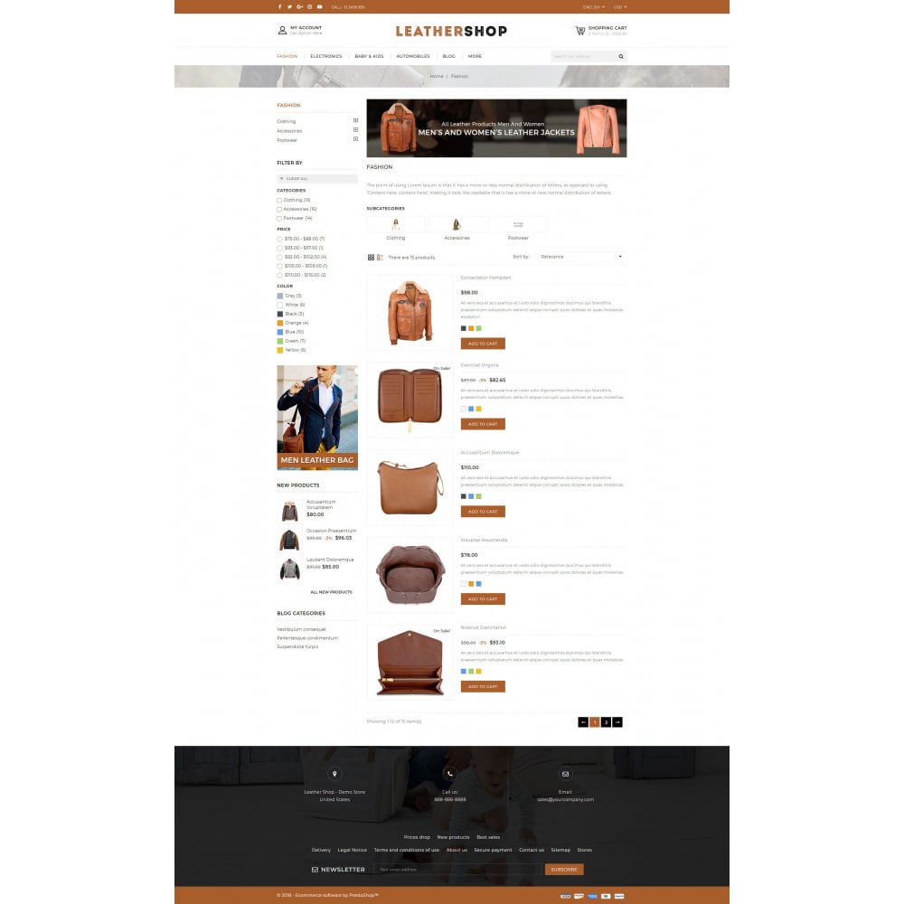 theme - Jewelry & Accessories - Leather Store - 4
