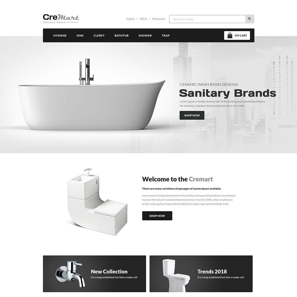 theme - Hogar y Jardín - Cremart Sanitary - Tienda de lavabos y fregaderos - 2