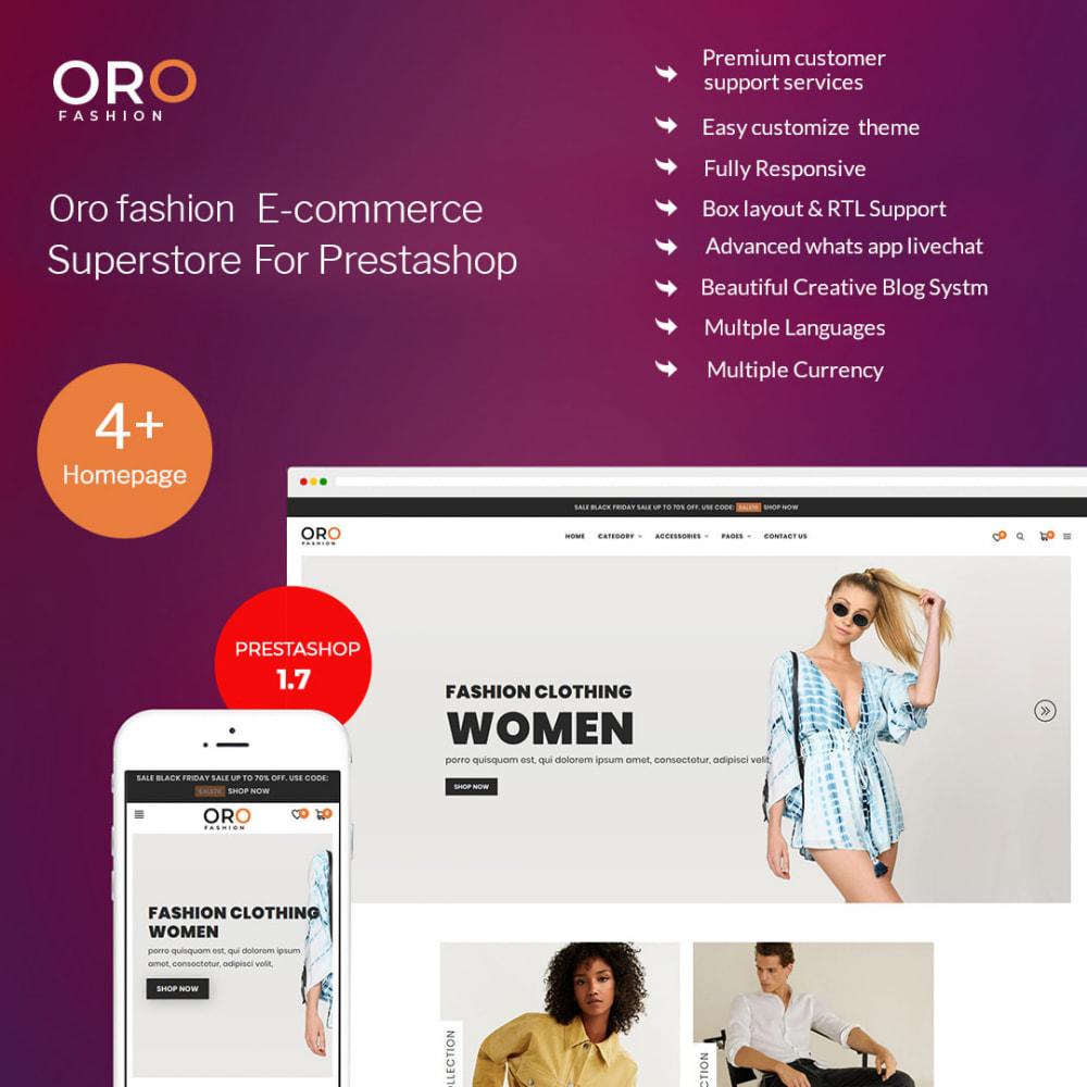 theme - Мода и обувь - Oro Fashion eCommerce Store - 1