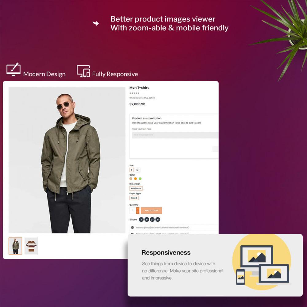 theme - Мода и обувь - Oro Fashion eCommerce Store - 3
