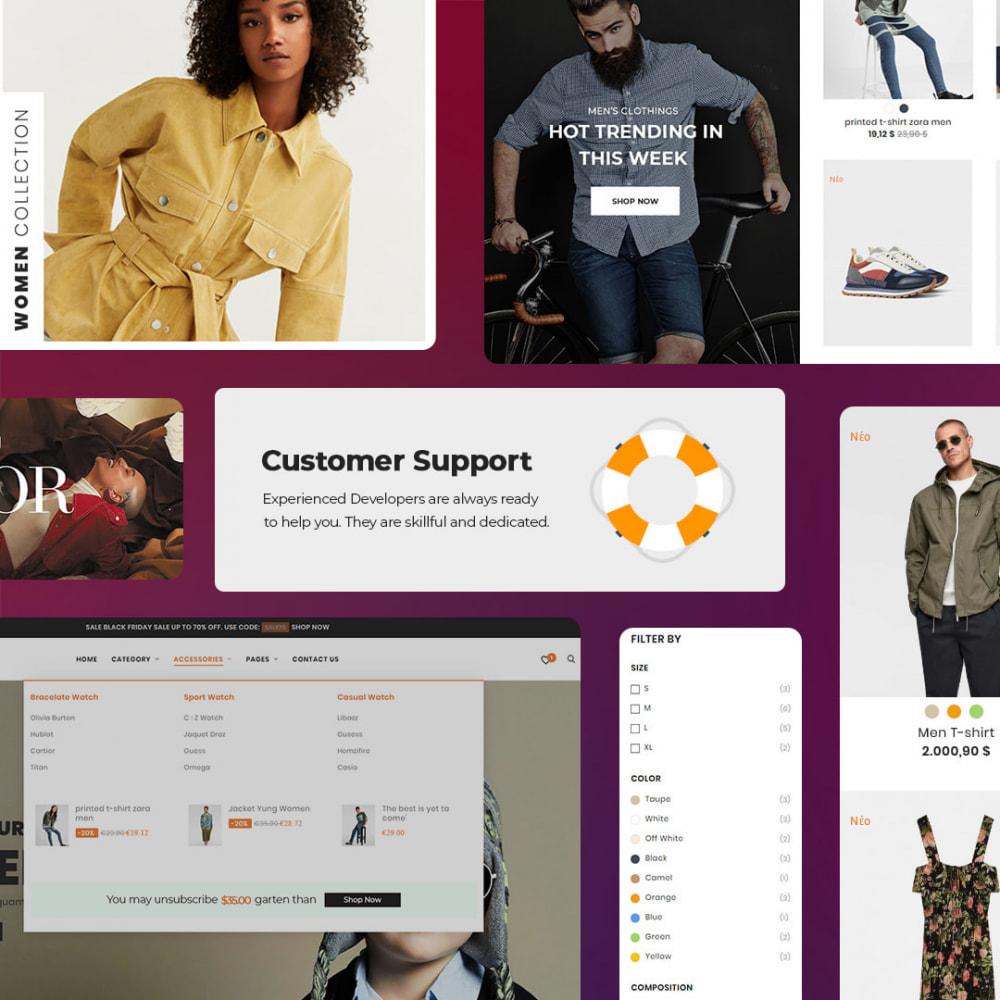 theme - Мода и обувь - Oro Fashion eCommerce Store - 5