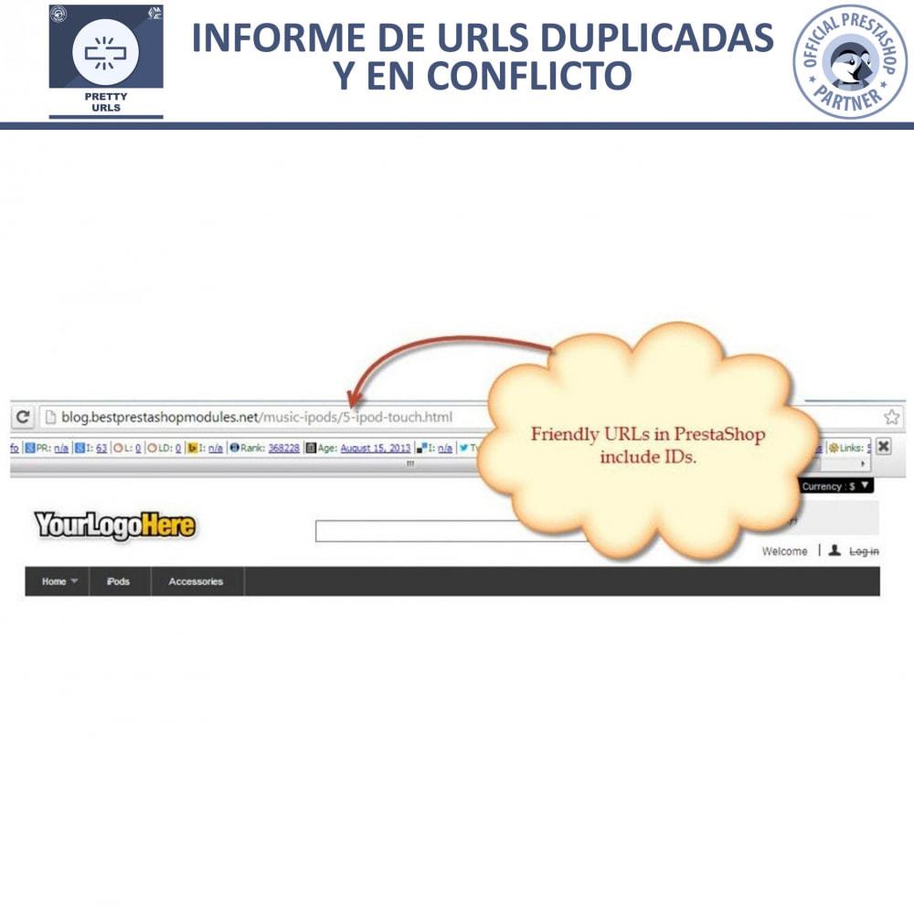 module - URL y Redirecciones - Pretty URLs - Eliminar Ids y números desde de URL - 19