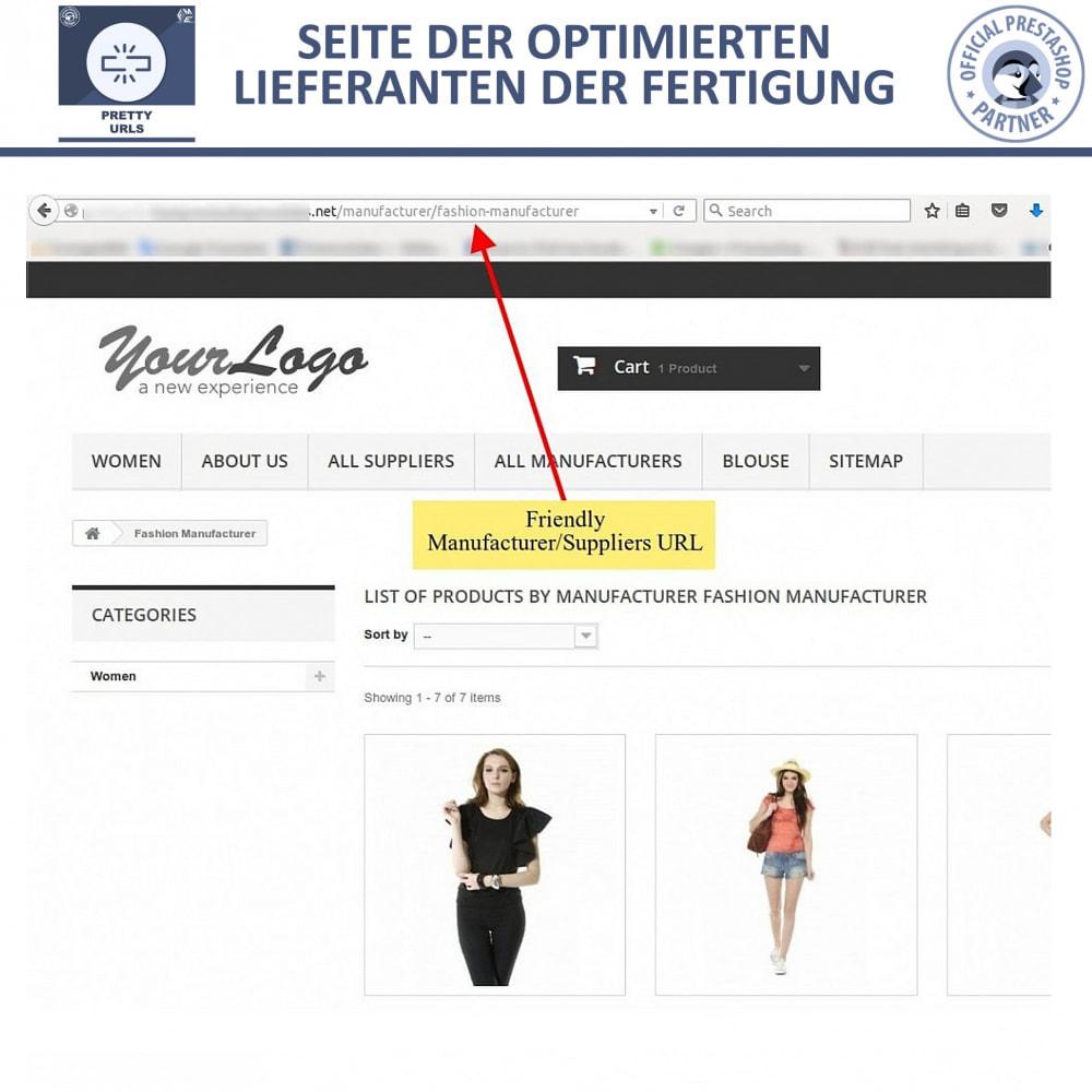 module - URL & Redirects - Pretty URLs – Entfernen Sie ID Nummern von der URL - 14