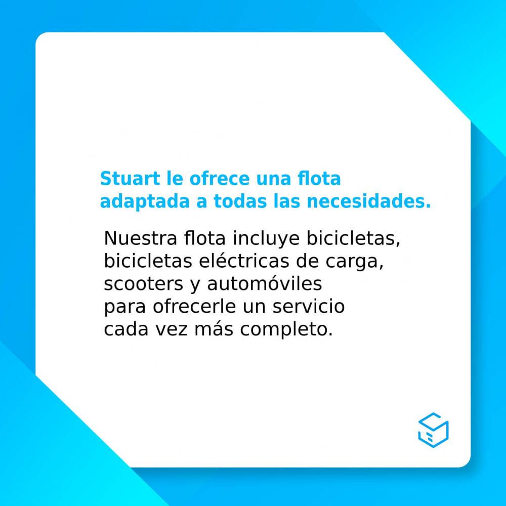 module - Transportistas - Stuart - Entrega 7/7 por mensajería - 2