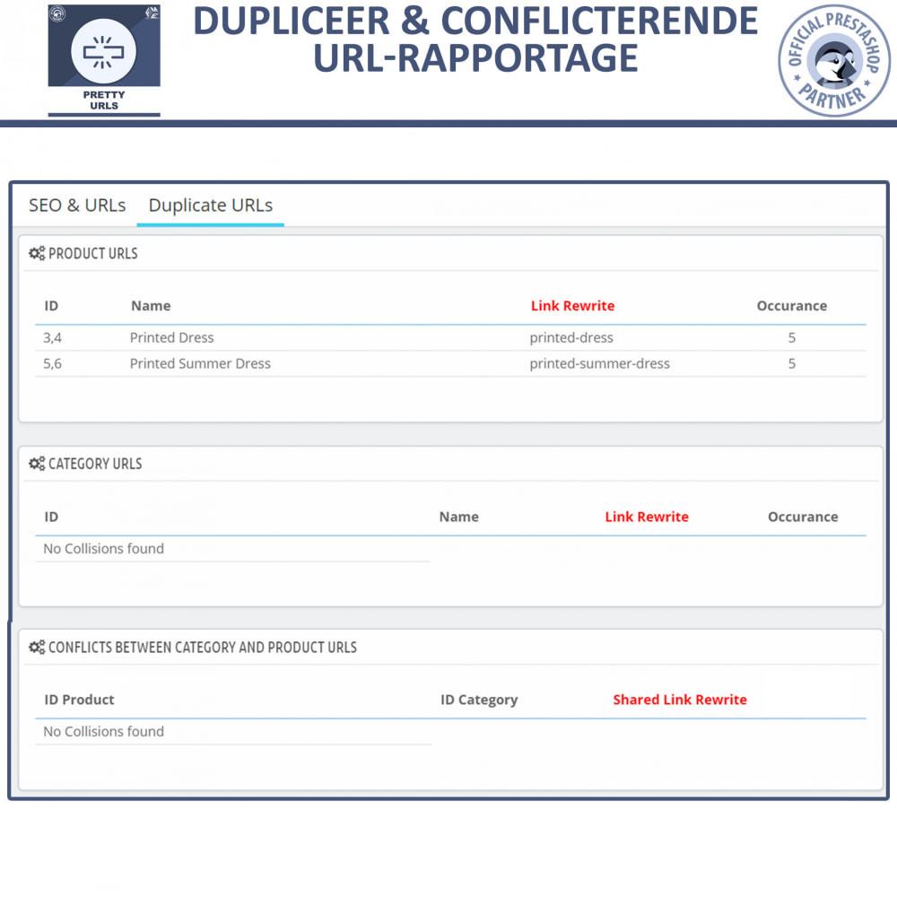 module - URL & Omleidingen - Pretty URL - Verwijder ID's en Nummers uit de URL - 9
