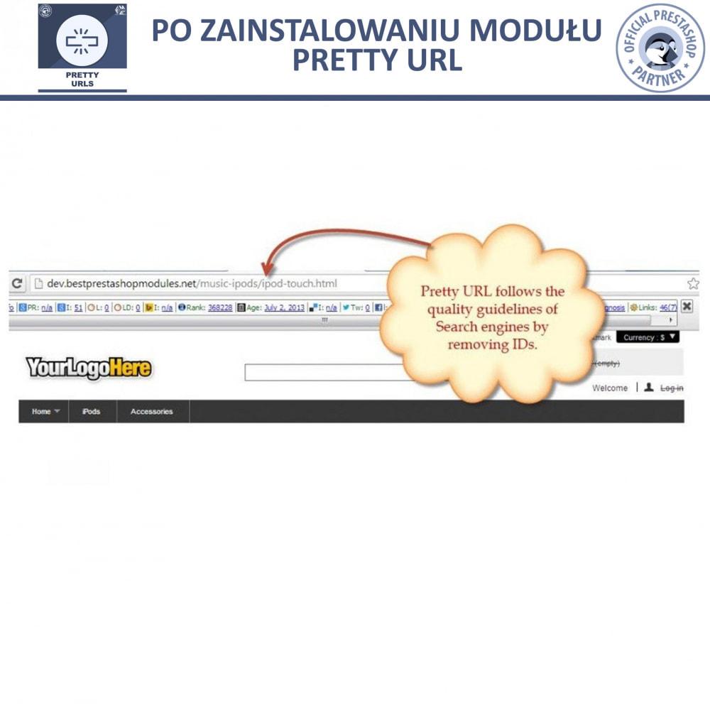 module - URL & Przekierowania - Pretty URL – Usuń ID i Numer z Adresu URL - 12