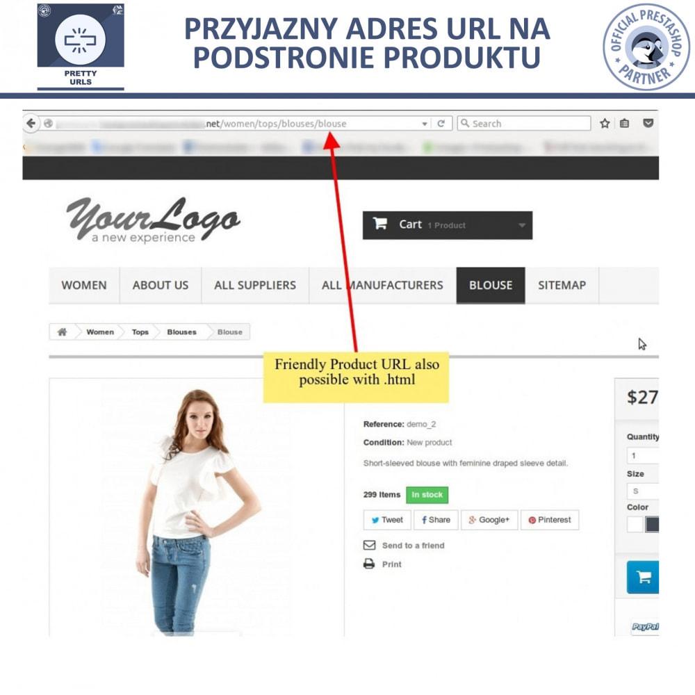 module - URL & Przekierowania - Pretty URL – Usuń ID i Numer z Adresu URL - 13