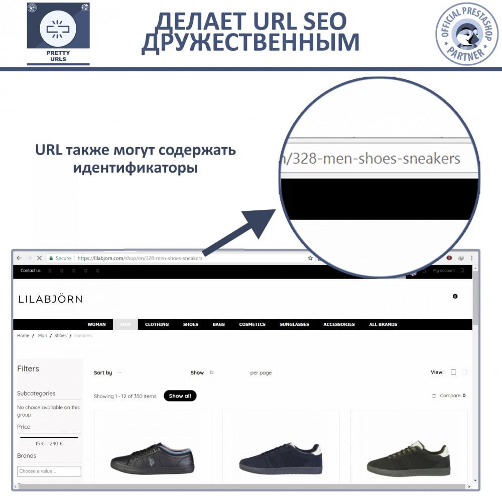 module - Управления адресами URL и перенаправлением - Pretty URL - удаление идентификаторов и номеров из URL - 4