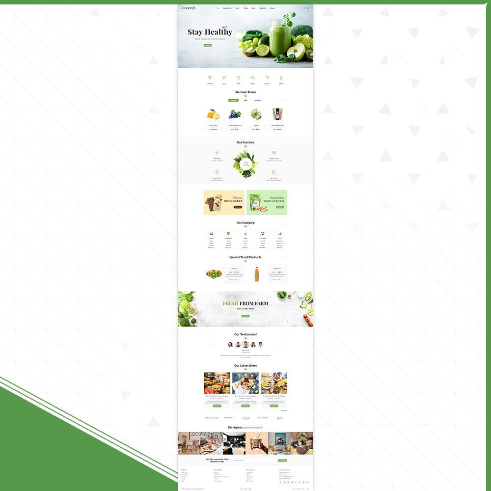 theme - Żywność & Restauracje - Envioly Grocery –Organic Store - 2