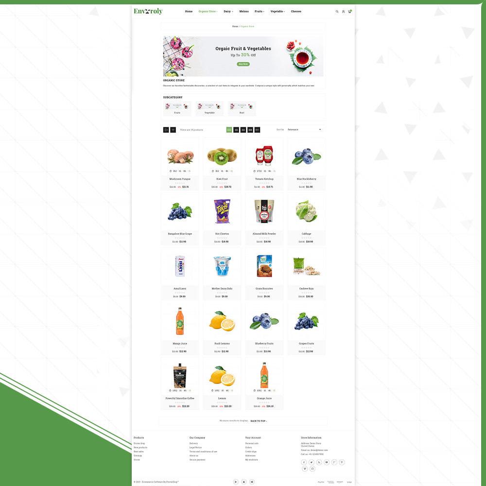 theme - Żywność & Restauracje - Envioly Grocery –Organic Store - 3