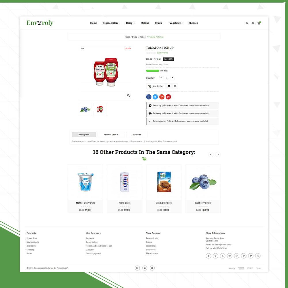 theme - Żywność & Restauracje - Envioly Grocery –Organic Store - 4