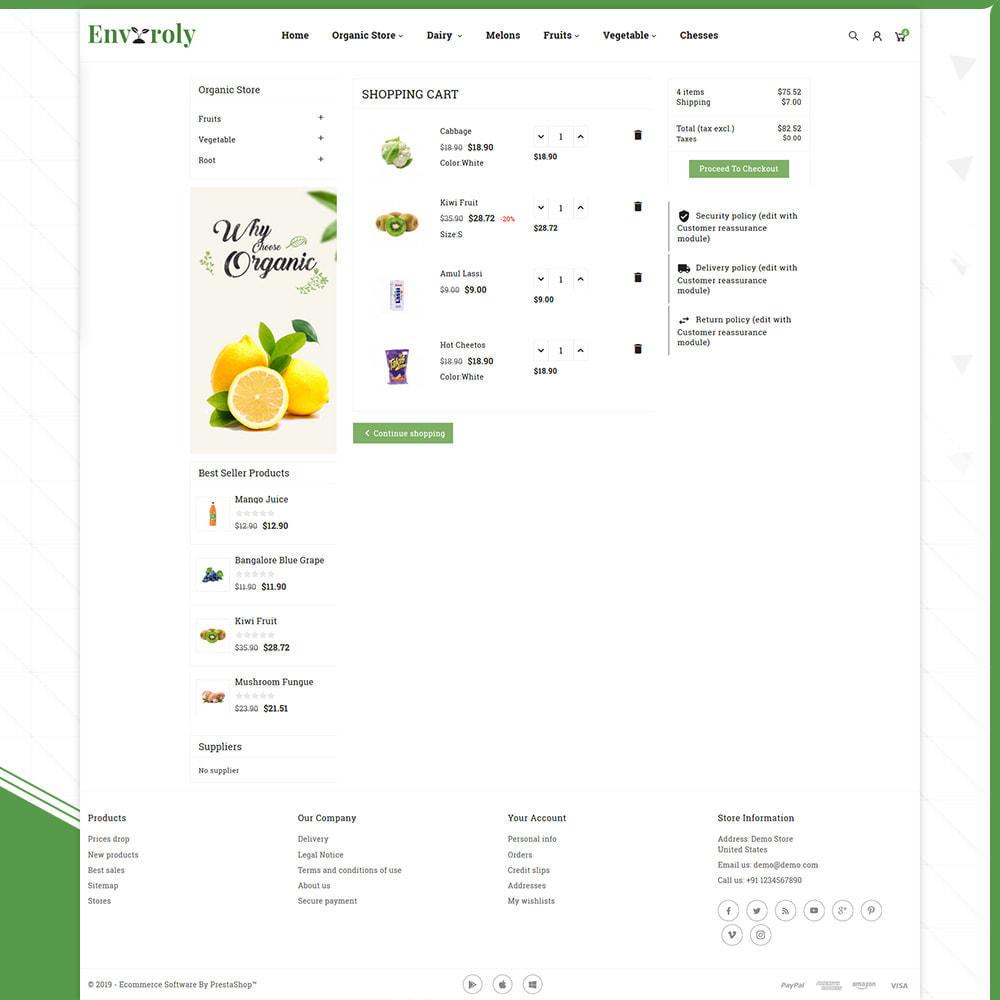 theme - Żywność & Restauracje - Envioly Grocery –Organic Store - 5