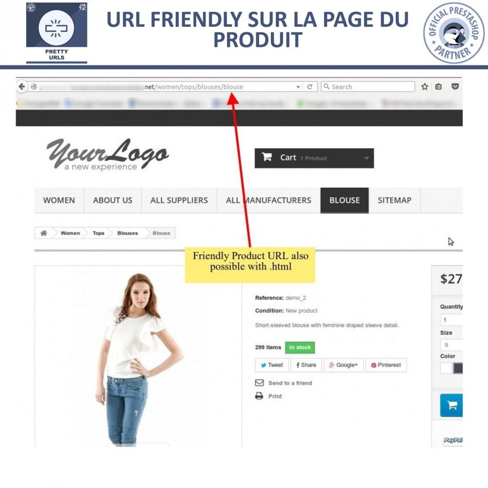module - URL & Redirections - Pretty URLs  - Supprimez les ID et les numéros de l'URL - 13