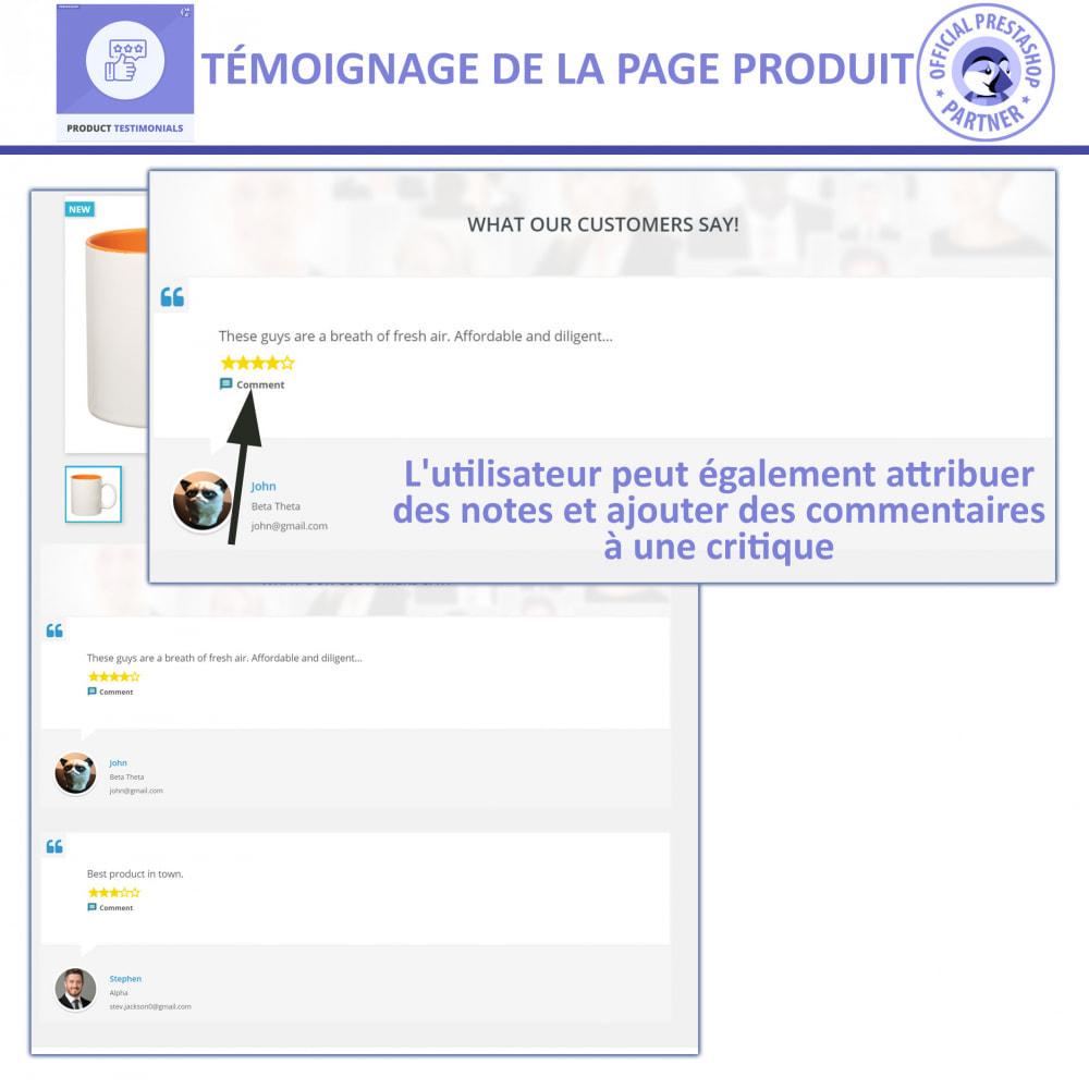 module - Avis clients - Revues de Produits + Témoignages de Magasins - 2
