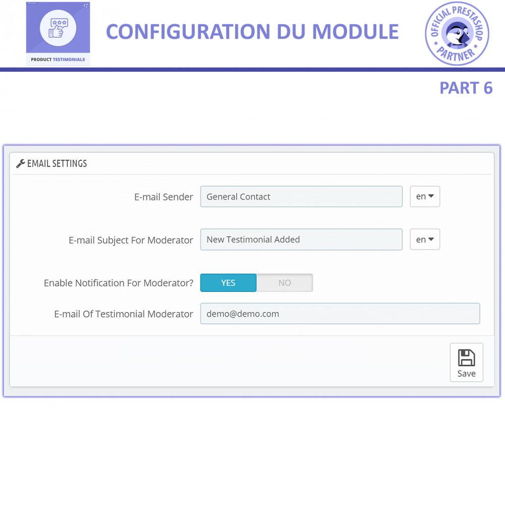 module - Avis clients - Revues de Produits + Témoignages de Magasins - 13