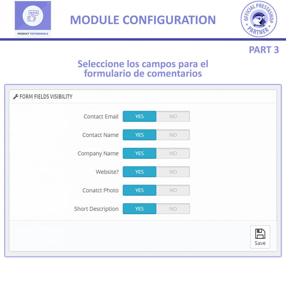 module - Comentarios de clientes - Opiniones Productos + Reseñas de la tienda - 10