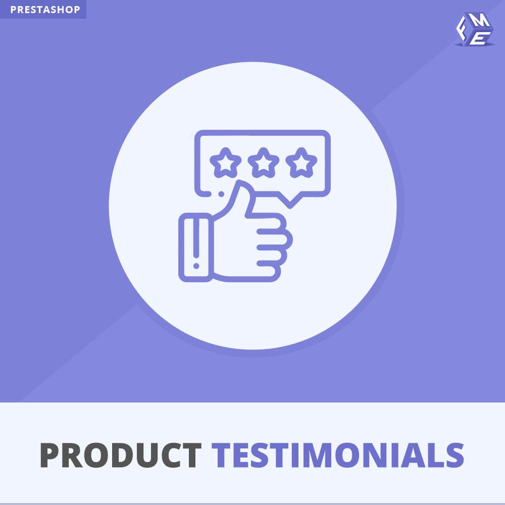 module - Recensioni clienti - Recensioni di Prodotti Clienti + Recensioni di Negozio - 1