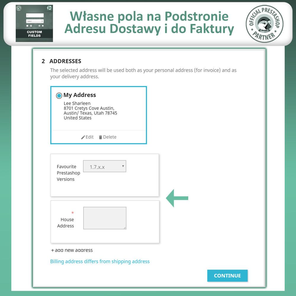 module - Procedury składania zamówień - Dodaj Dodatkowe Pole na Stronie Zamówienia (Checkout) - 5