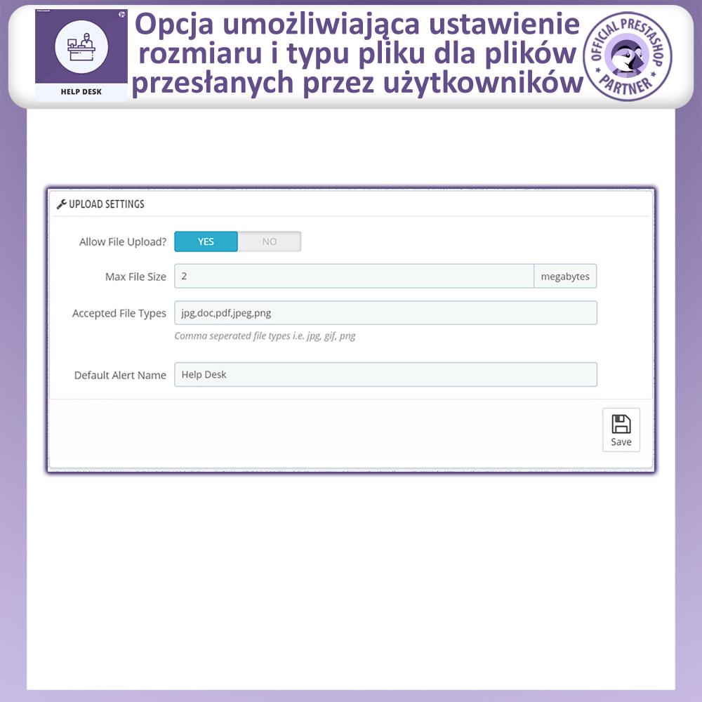 module - Serwis posprzedażowy - Centrum Pomocy – Systemu Zarządzania Obsługą - 7