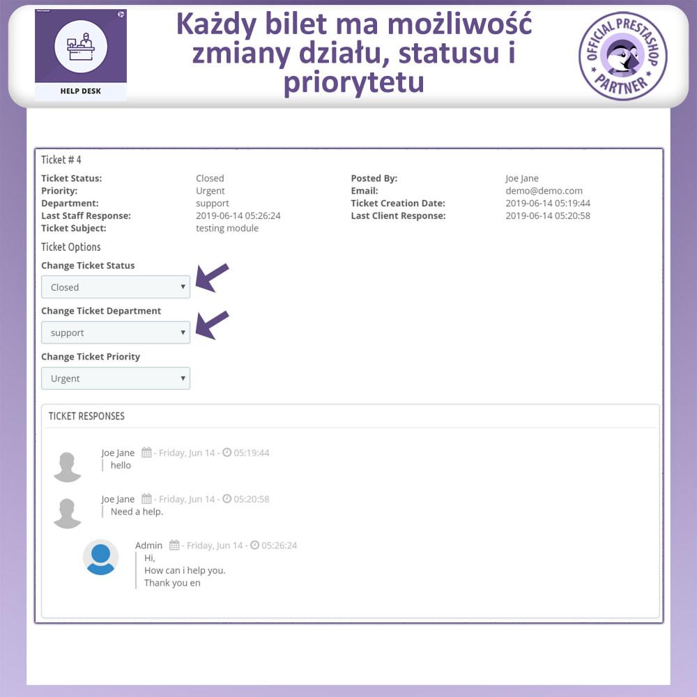 module - Serwis posprzedażowy - Centrum Pomocy – Systemu Zarządzania Obsługą - 9