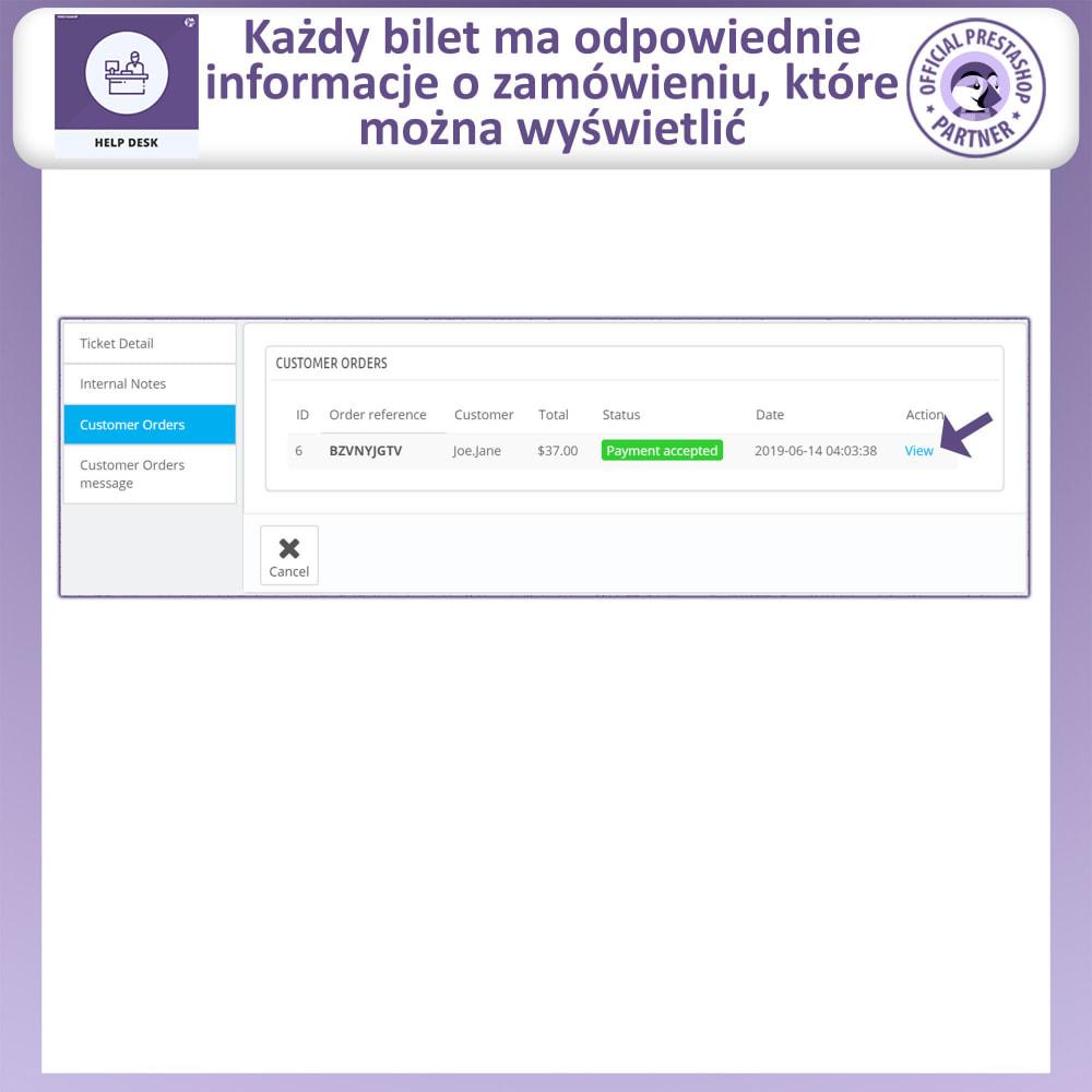 module - Serwis posprzedażowy - Centrum Pomocy – Systemu Zarządzania Obsługą - 12