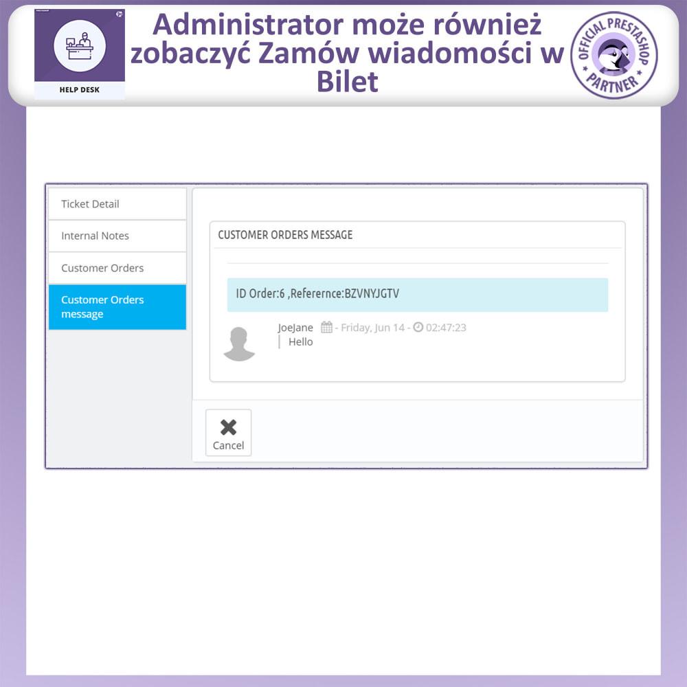module - Serwis posprzedażowy - Centrum Pomocy – Systemu Zarządzania Obsługą - 13