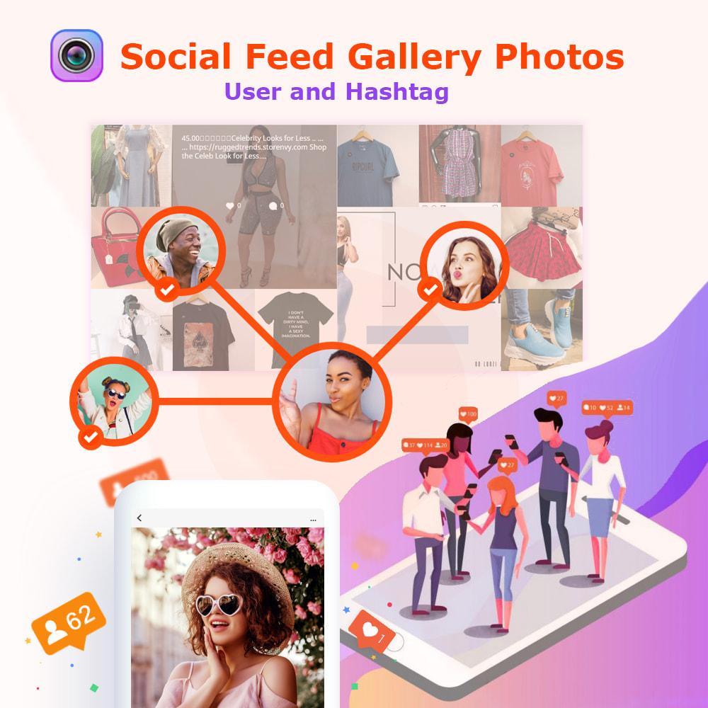 module - Produkty w serwisach społecznościowych - Instagram Feed Gallery Photos User and Hashtag NEW API - 1