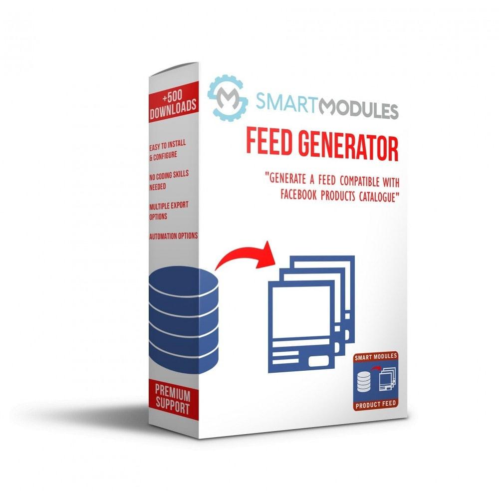 module - Indicizzazione a pagamento (SEA SEM) & Affiliazione - Feed di Prodotti: Pubblicità Dinamica & Tag & Shop - 1