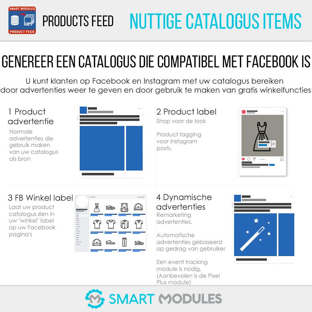 module - Betaalde vermelding & Lidmaatschap - Producten Feed: Dynamische Advertenties & Tag & Shop - 2