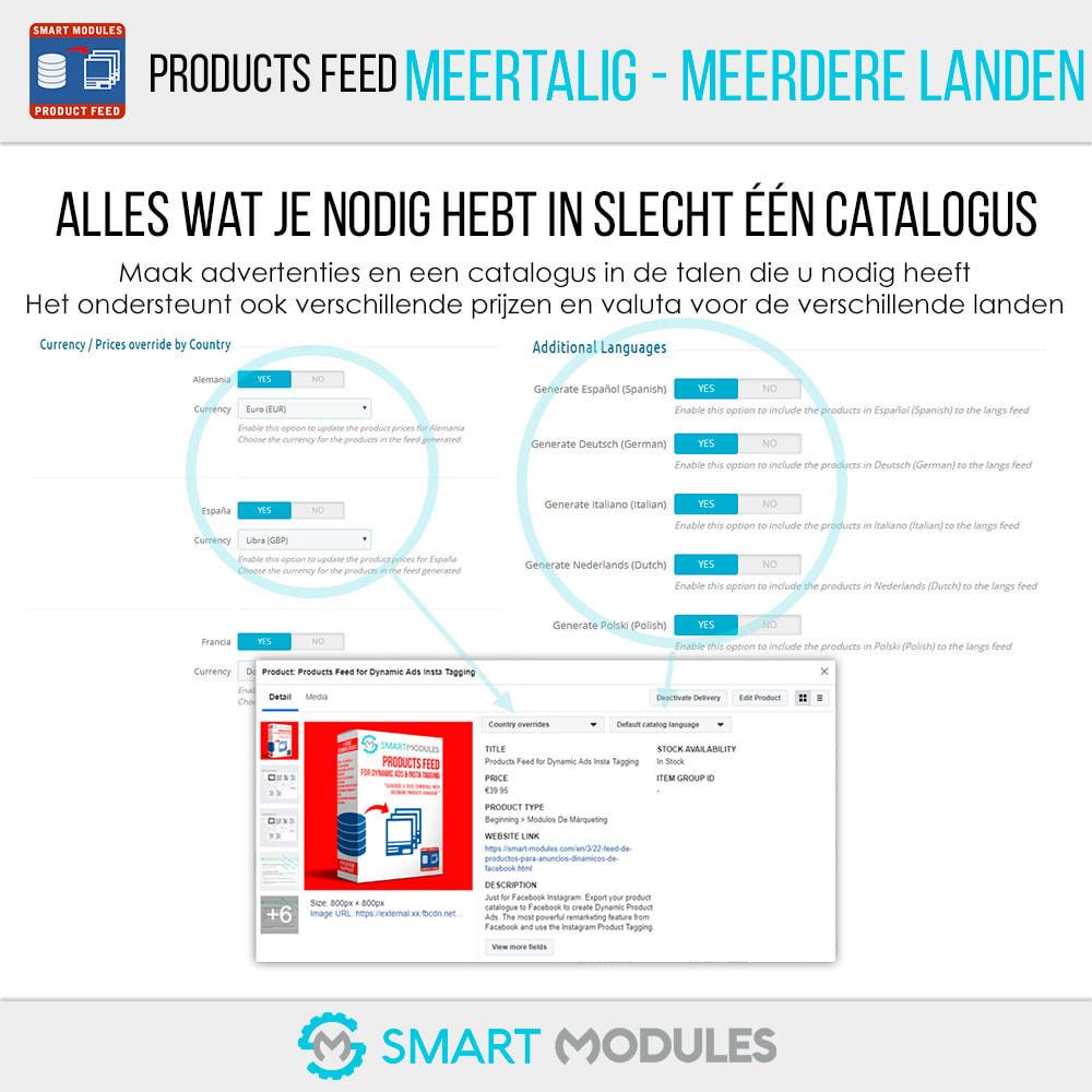 module - Betaalde vermelding & Lidmaatschap - Producten Feed: Dynamische Advertenties & Tag & Shop - 3