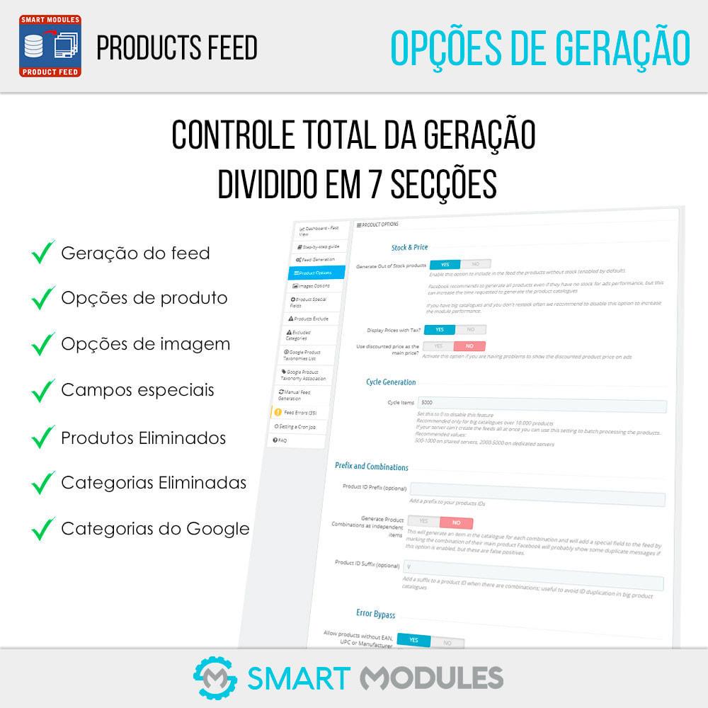 module - SEA SEM pago & Filiação - Feed de Produtos: Anúncios Dinâmicos & Tag & Shop - 4