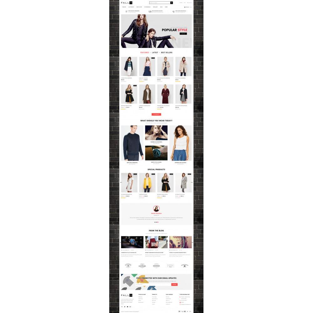 theme - Fashion & Shoes - Fallin - Apparel Store - 2
