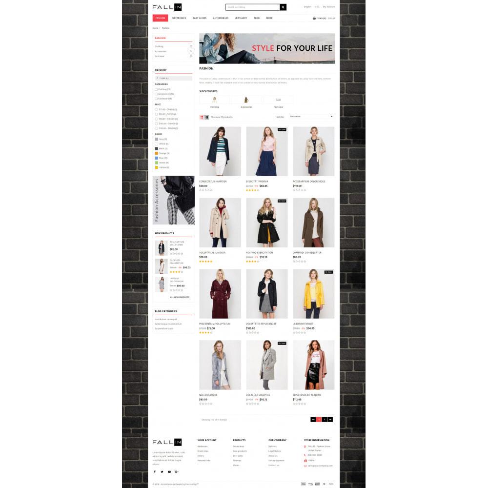 theme - Fashion & Shoes - Fallin - Apparel Store - 3